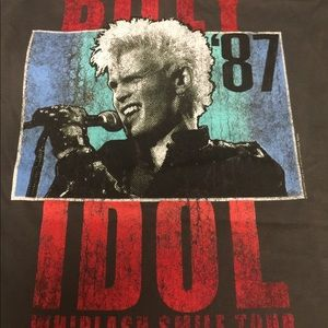 Unisex Prince Peter Collection Billy Idol 87 Print